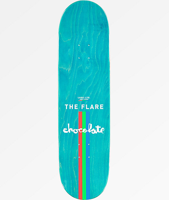 "Chocolate x Lakai Tershy The Flare 8.5"" Skateboard Deck"