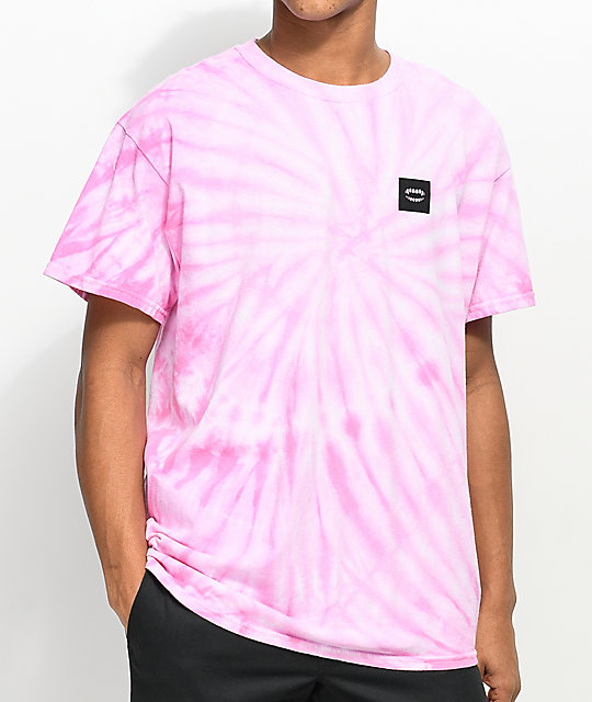 Chomp Keep On Pink Tie Dye T-Shirt