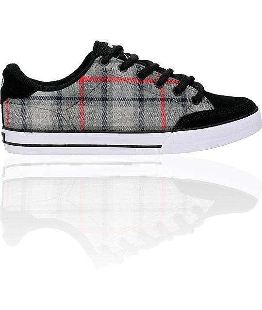 Circa AL 50 Grey Plaid Shoes