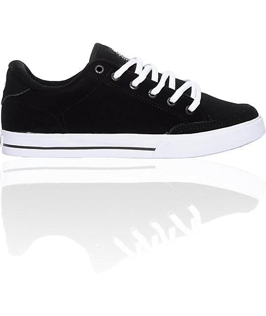 Circa AL50 Black, Black & White Shoes