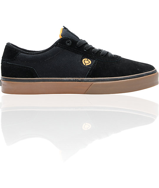 Circa Lamb Gravette Black Skate Shoes