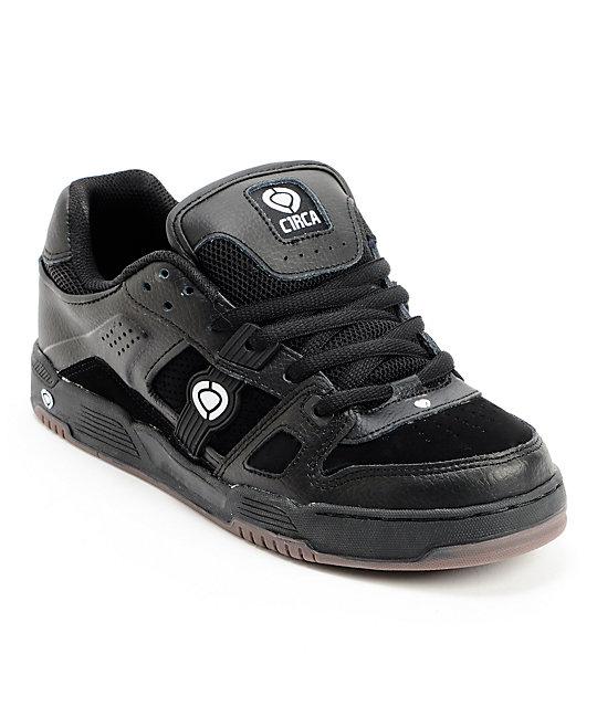 Circa Torque Black & Gum Skate Shoes