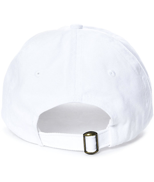 Civil Nasty White Baseball Hat