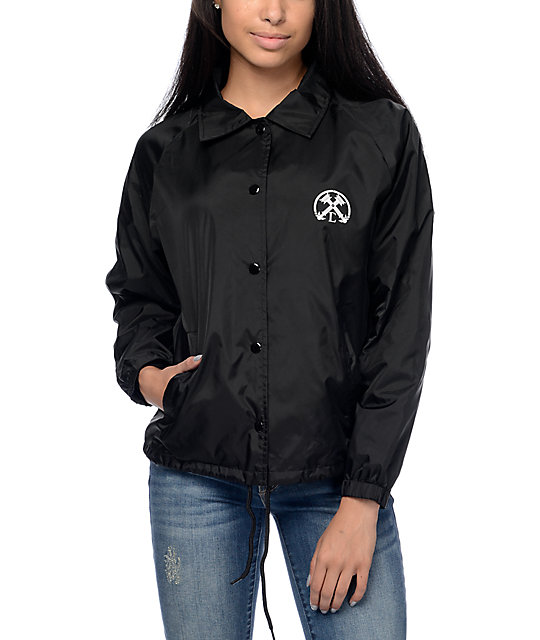 Civil Torches Black Coaches Jacket