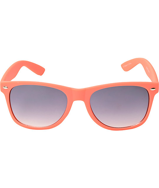 Classic Smooth Operator Matte Coral Sunglasses
