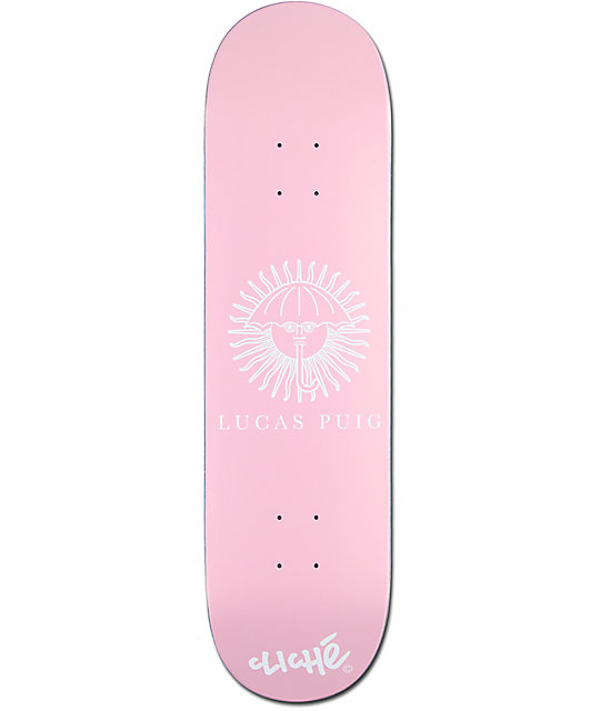 "Cliche Puig Helas 2 8.25"" Skateboard Deck"