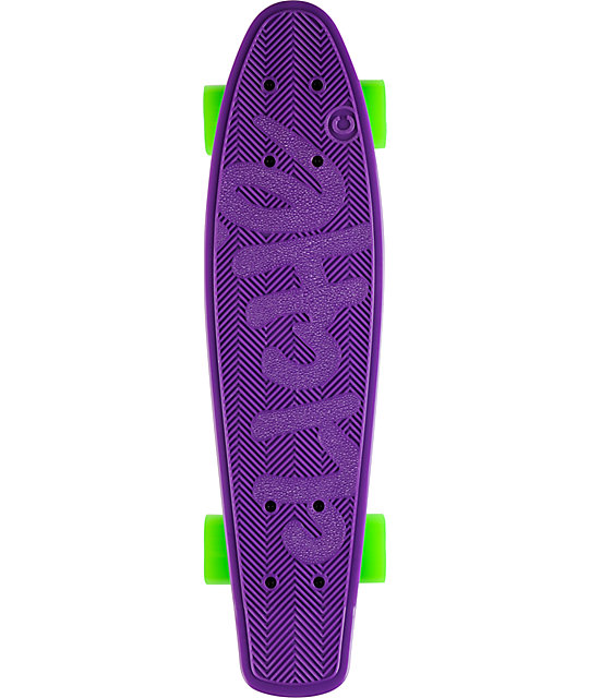 "Cliche Trocadero Purple 22.5""  Mini Cruiser Skateboard"