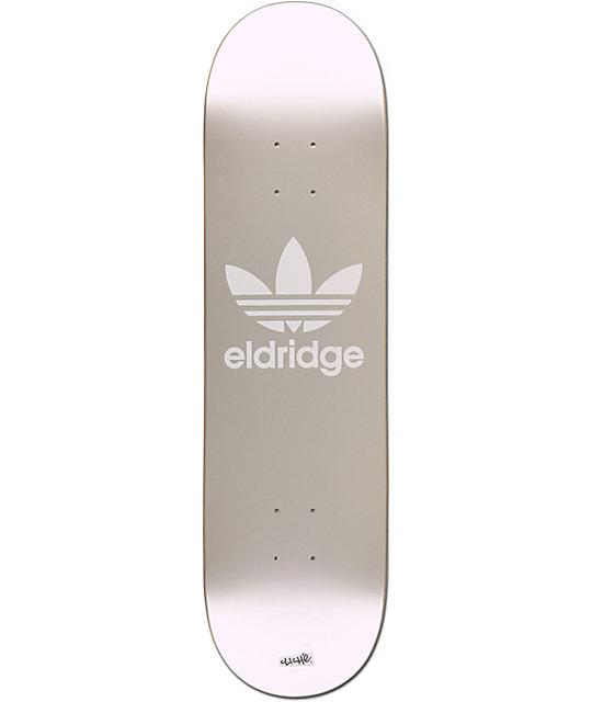 "Cliche x adidas Eldridge Silver 8.25""  Skateboard Deck"