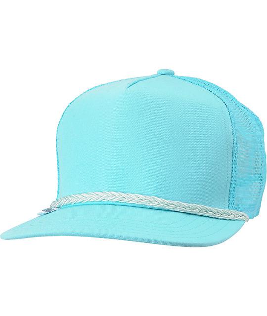 Coal Arnie Aqua Snapback Trucker Hat