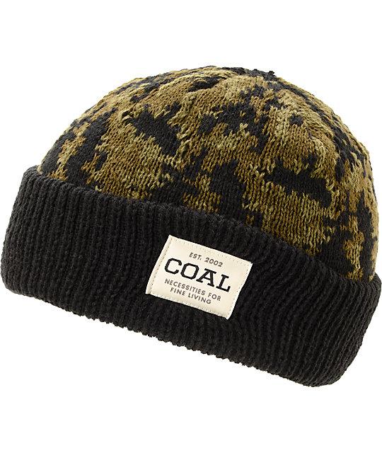 Coal Bushwhack Black Cuff Beanie