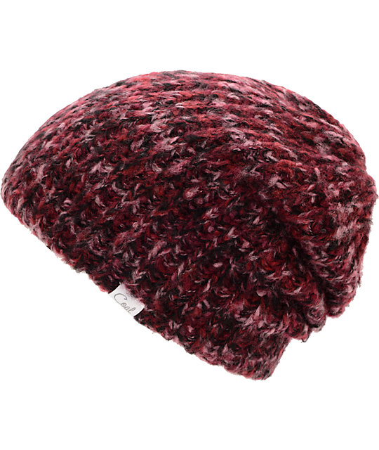Coal Coco Plum Red Beanie