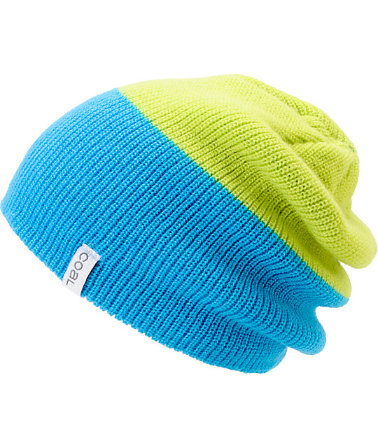 Coal Duo Green & Blue Beanie