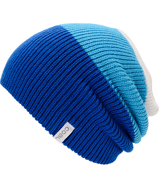 Coal Frena Blue & White Beanie