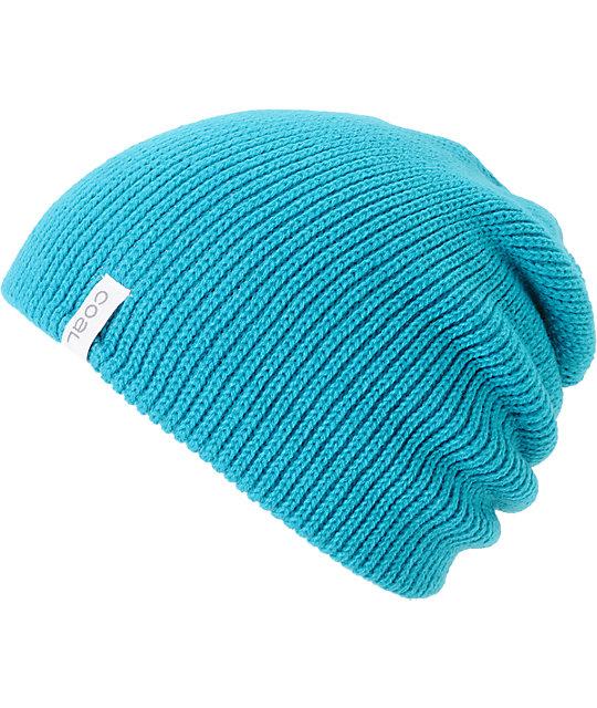 Coal Frena Turquoise Knit Beanie