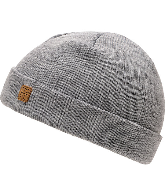 Coal Harbor Heather Grey Cuff Beanie