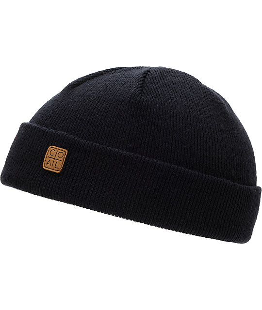Coal Harbor Navy Fold Beanie