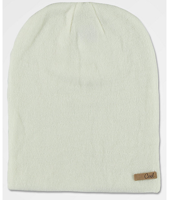 Coal Julietta Cream Beanie
