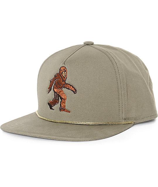 Coal Lore Sasquatch Snapback Hat