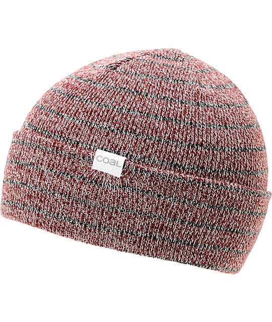 Coal Nicks Burgundy Cuff Beanie