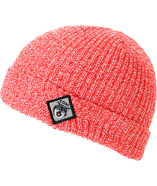 Coal Scout Red Beanie