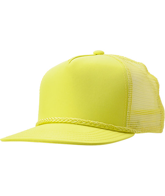 Coal The Arnie Neon Yellow Trucker Hat