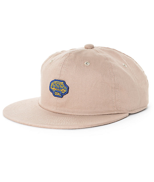 Coal The Junior Van Unconstructed Khaki Snapback Hat
