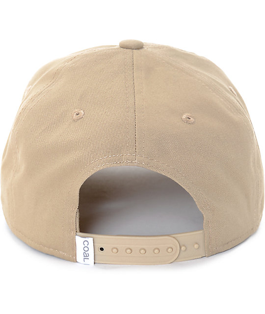Coal The Oasis Unstructured Khaki Snapback Hat