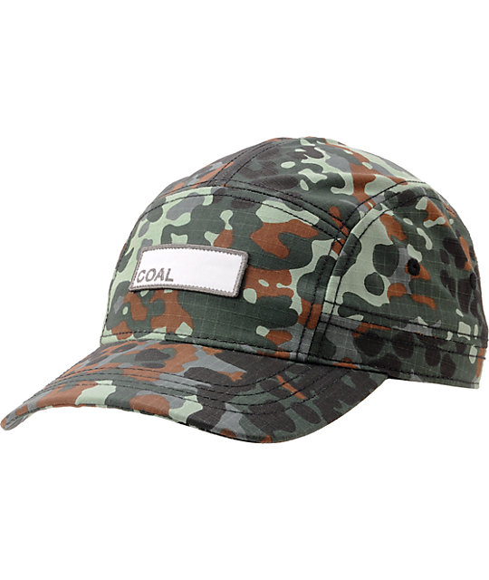 Coal The Owen Camo 5-Panel Hat