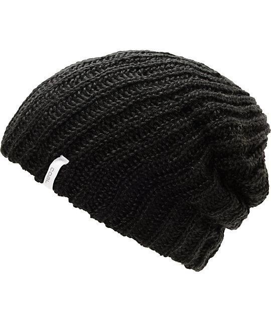 Coal Thrift Black Knit Beanie