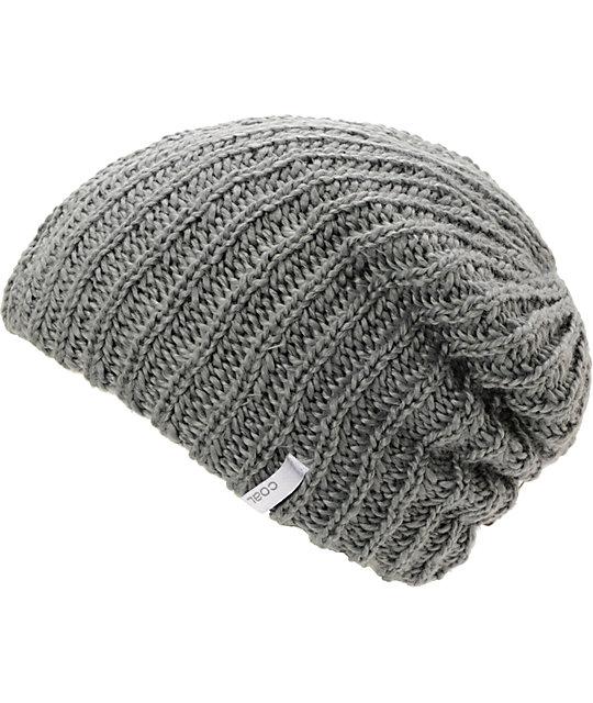 Coal Thrift Grey Knit Beanie