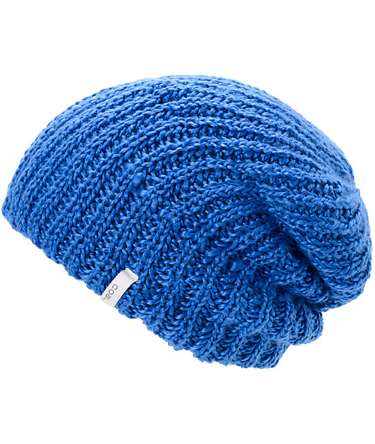 Coal Thrift Royal Blue Knit Beanie
