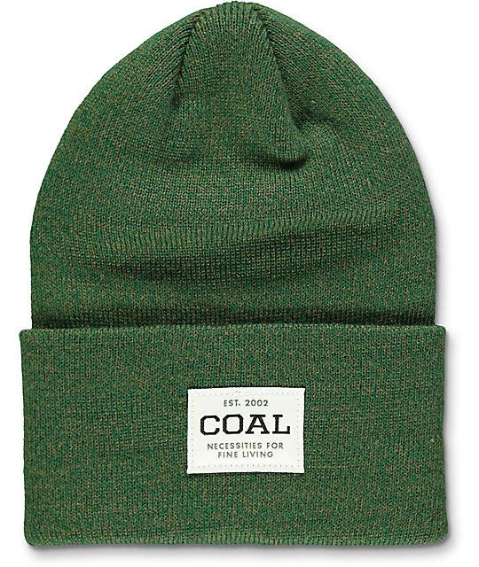 Coal Uniform Forest Green Marled Beanie