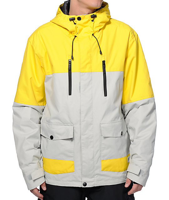 Colour Wear Bolt Burst 10K Snowboard Jacket