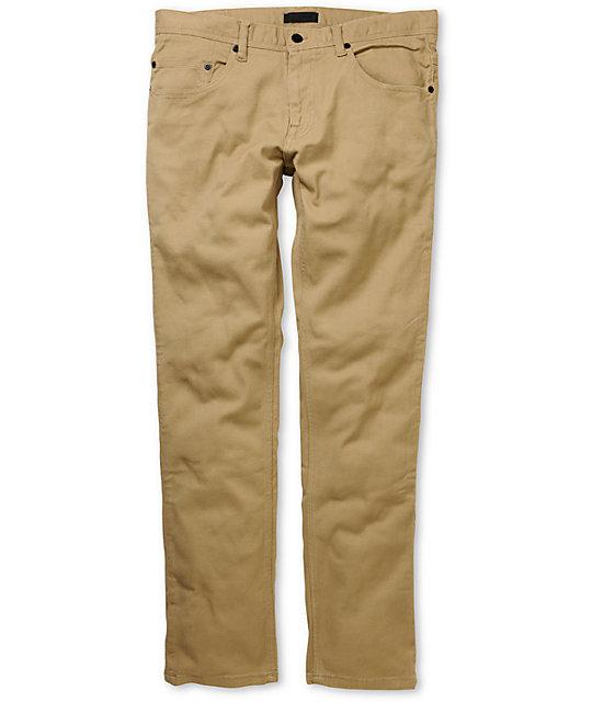 Comune Carl Khaki Slim Jeans
