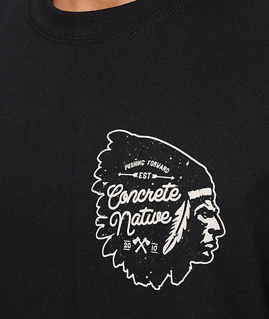 Concrete Native Broken Arrow T Shirt Zumiez