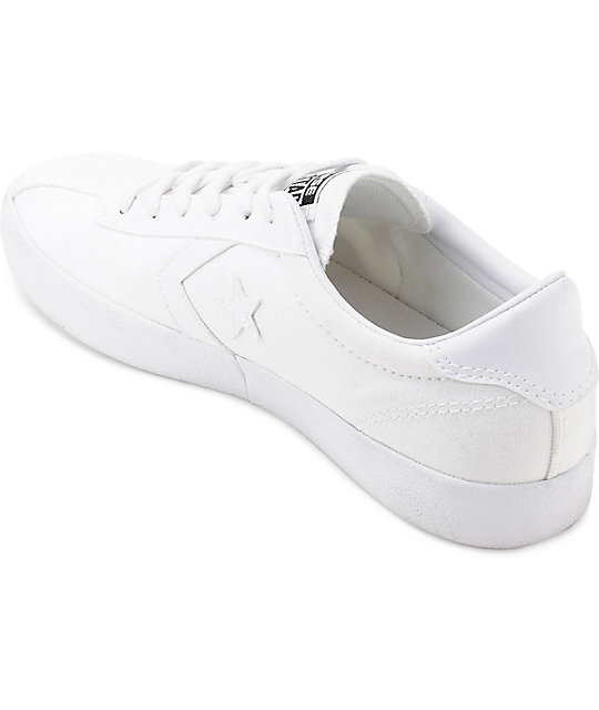 Converse Breakpoint White Canvas Womens Shoes