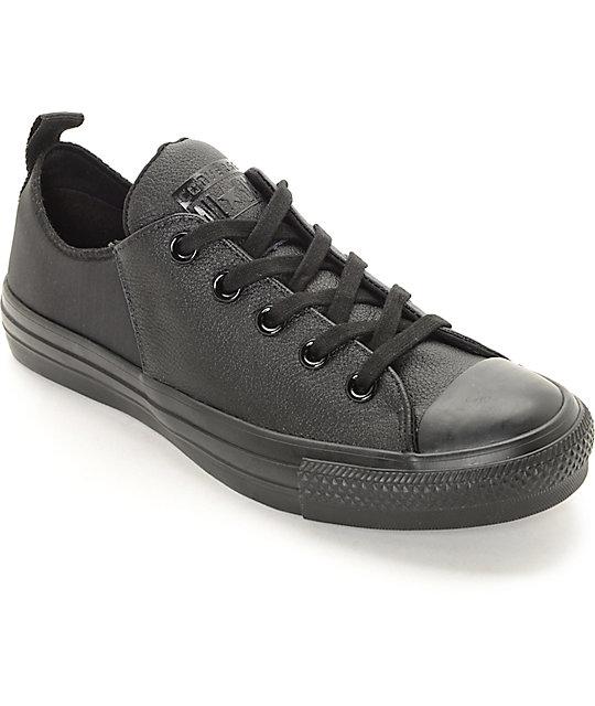 converse ctas abbey low black mono women 39 s shoes zumiez. Black Bedroom Furniture Sets. Home Design Ideas