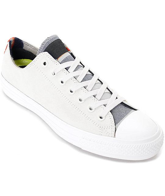 Converse CTAS Pro Blanket Stripe Buff & Casino White Shoes