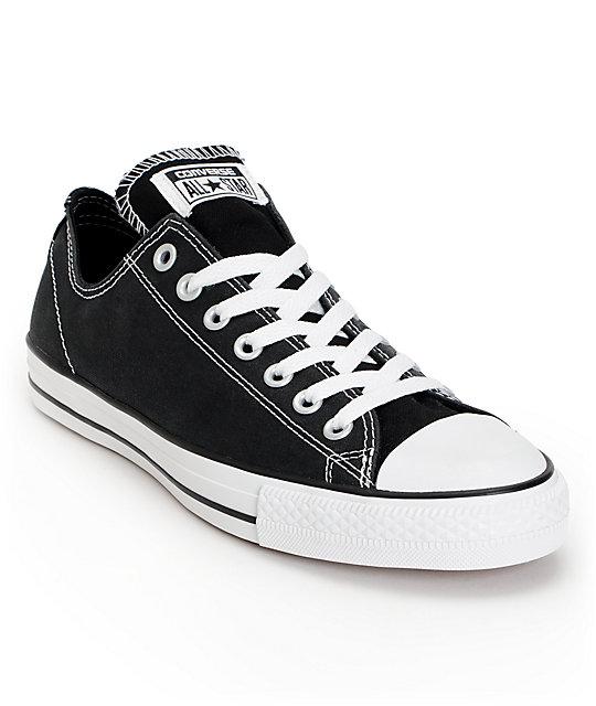 Converse CTAS Pro Skate Black & White Skate Shoes