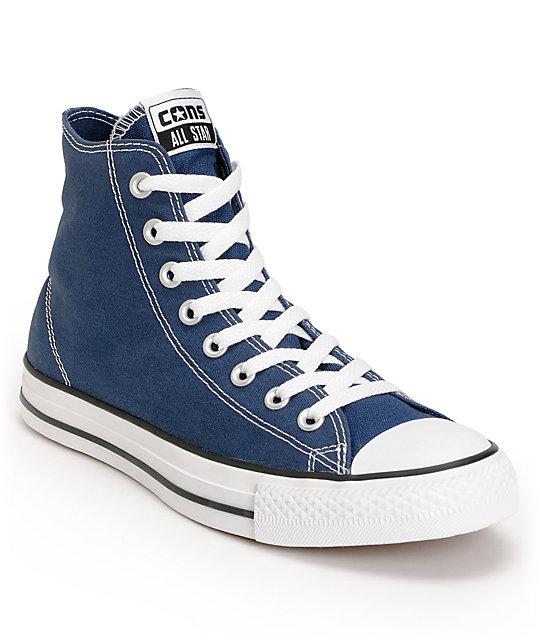 Converse CTAS Pro Skate Hi Dark Denim, White & Black Shoes