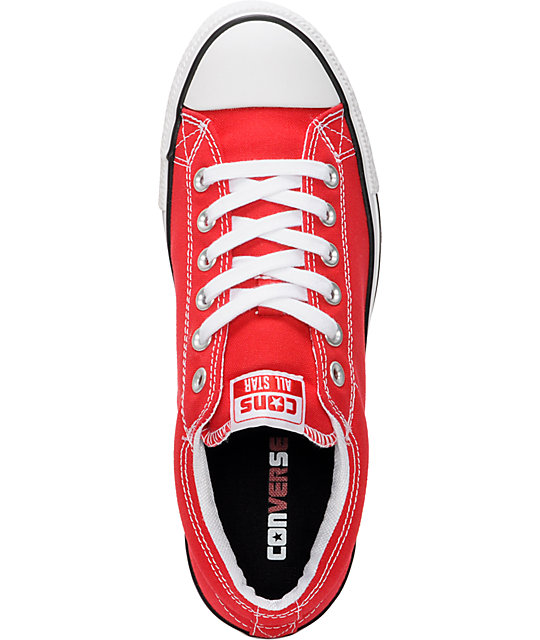 Converse CTS Red & White Shoes
