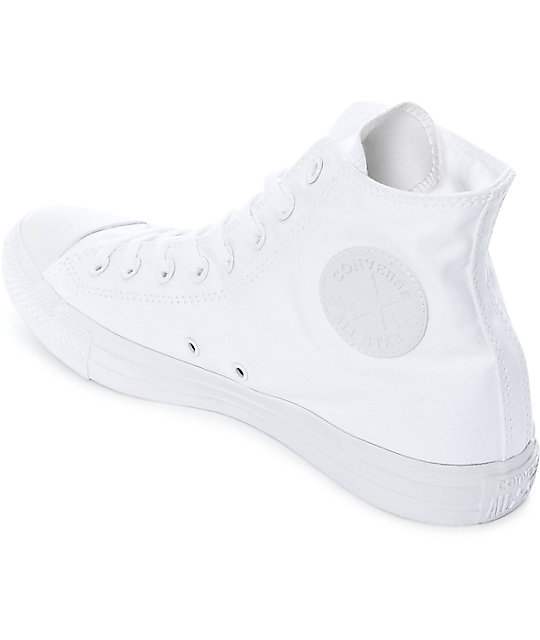 Converse Chuck Taylor All Star All White Shoes