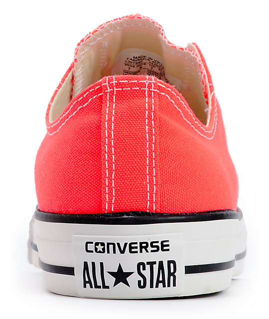 Converse Chuck Taylor All Star Fiery Coral Shoes