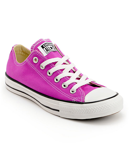 All converse stars purple