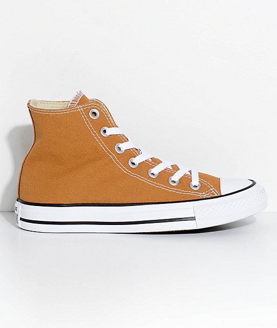 Converse Chuck Taylor Hi Raw Sugar Shoes