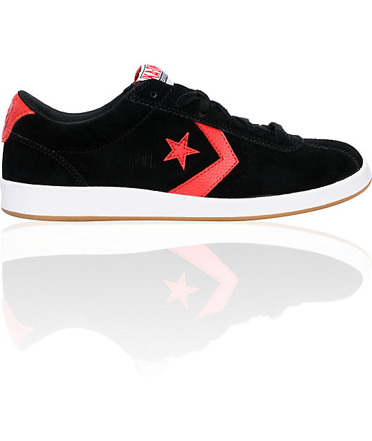 Converse KA-One Black & Varsity Red Skate Shoes