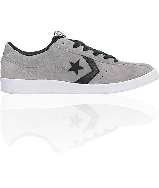 Converse KA-One Paeton Grey Suede & Black Shoes