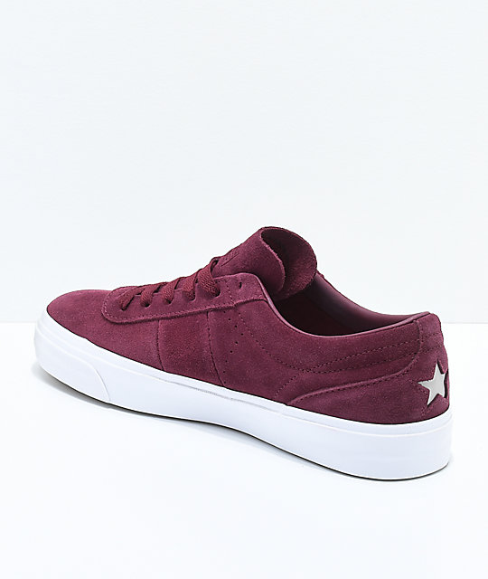 Converse One Star CC Pro Deep Bordeaux Skate Shoes
