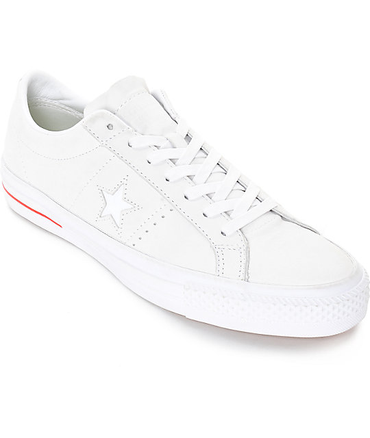 Converse One Star Leather Skate Shoes
