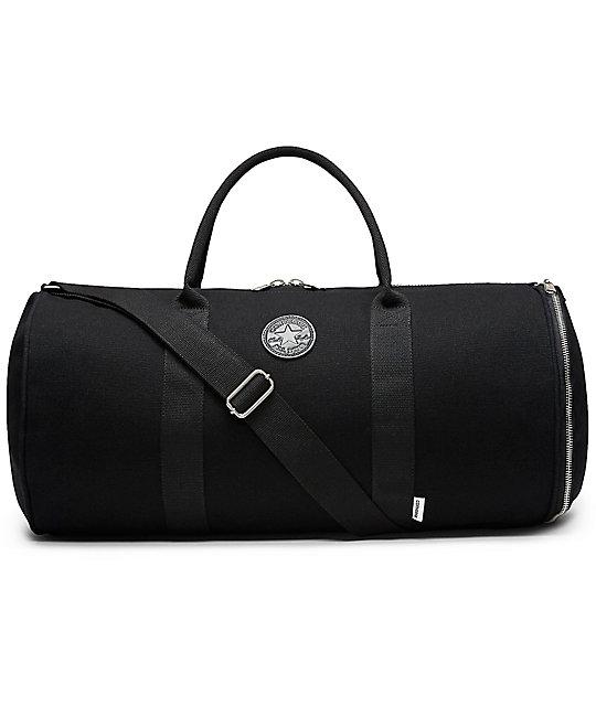 Converse Original Black Canvas Duffle Bag